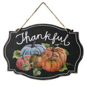 National Tree 15in. Thankful Wood Wall Sign