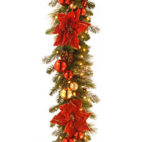 National Tree 9ft. Pre-Lit Home for the Holidays G
