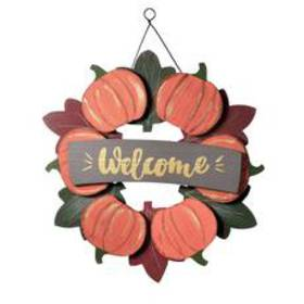 National Tree 15in. Welcome Wood Wall Sign