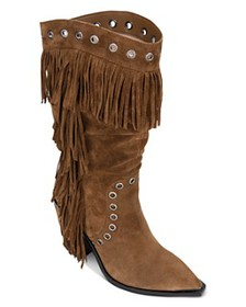 Kenneth Cole - Women's West Side Fringe Mid-Calf B