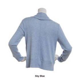 Juniors A. Byer Long Sleeve Cowl Neck Boxy Sweater