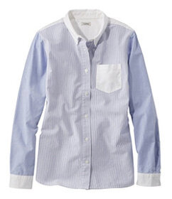 LL Bean Lakewashed Organic Cotton Oxford Shirt, Co