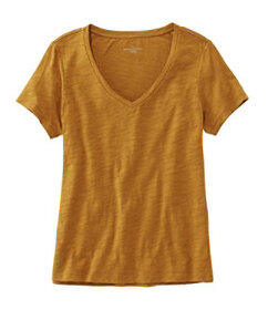 LL Bean Signature Essential Knit Tee, Short Sleeve