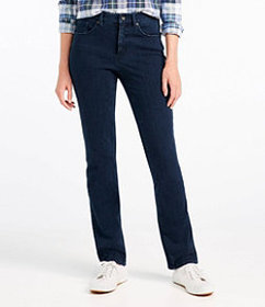 LL Bean Super Stretch Slimming Jeans, Classic Fit