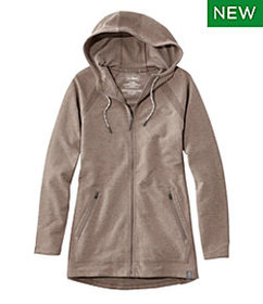 LL Bean Bean's Cozy Full-Zip Hooded Sweatshirt