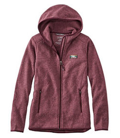 LL Bean L.L.Bean Sweater Fleece, Full-Zip Hoodie