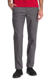 Calvin Klein Heathered Twill Slim Fit Chino Pants
