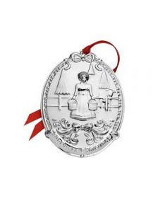 Mikasa 2019 Silver Plated 12 Days Of Christmas Orn