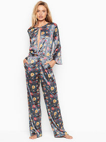 Victoria Secret Satin Jumpsuit