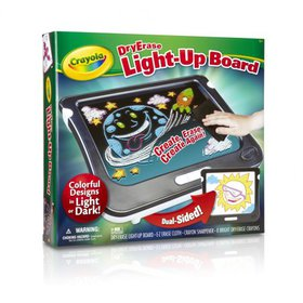 Crayola Dry Erase Light Up Board Art Set Ages 5+