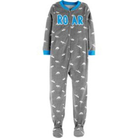 Boys 4-10 Carter's Fleece One-Piece Pajamas