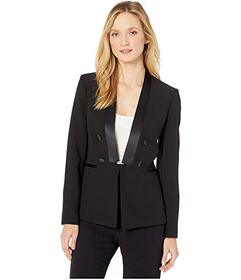 Tahari by ASL Faux Double Breasted Combo Jacket