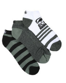 Ecko 3 pack 1/2 cushion no show socks
