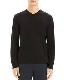 Theory - Hilles Cashmere V-Neck Sweater