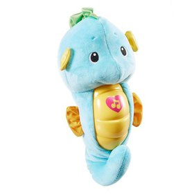 Fisher-Price Soothe & Glow Seahorse, Blue, A gentl