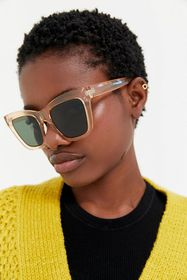 All The Way Up Oversized Sunglasses
