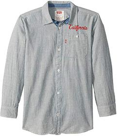 Levi's® Kids Long Sleeve Woven Shirt (Big Kid