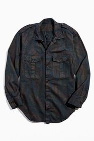 Urban Renewal Vintage Lizard Camo Shirt Jacket