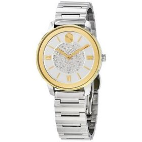 MovadoBold Quartz White Dial Ladies Watch