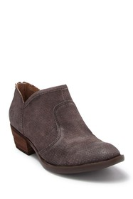 Born Ven Perforated Suede Bootie