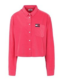TOMMY JEANS - Solid color shirts & blouses