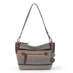 The Sak Indio Crochet Demi Crossbody - Shoreline S