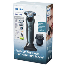 Philips Norelco Shaver 6900 with Click On Beard St