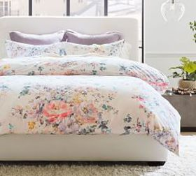 Pottery Barn Kinsley Floral Organic Cotton Duvet C