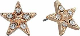Betsey Johnson Star Stud Earrings