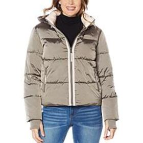 """As Is"" G by Giuliana Puffer Jacket with Removable"