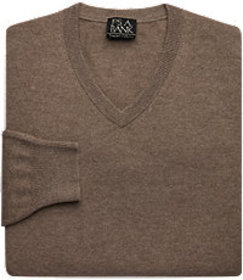 Jos Bank Traveler Collection Cashmere V-Neck Sweat