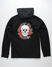 RSQ Love Is Forever Mens Hooded Jacket_
