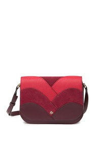 kate spade new york nadine patchwork medium flap l