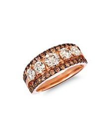 Bloomingdale's - Champagne Diamond Classic Band in