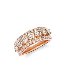 Bloomingdale's - Champage Diamond Classic Band in