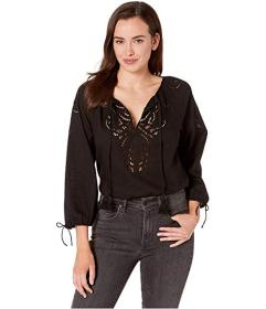 Lucky Brand Vivienne Eyelet Top