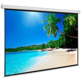 Manual Projector Screen Pull Projection Down Home