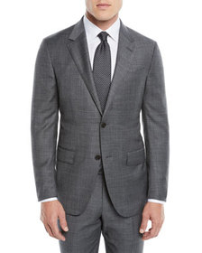 Ermenegildo Zegna Men's Heathered Solid Two-Piece