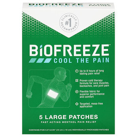BIOFREEZE Cool the Pain Patches