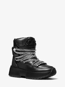 [object Object] Cassia Leather Boot