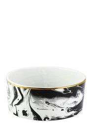 Jay Import Everyday Pet Bowl - Marble/Gold