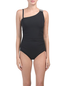 CONTOURS BY COCO REEF Eternity One Shoulder Swimsu