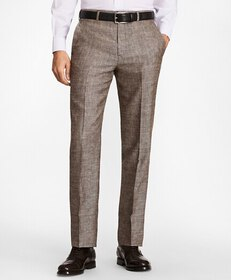 Brooks Brothers Regent Fit Wool Blend Trousers