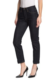 AG Isabelle High Rise Crop Straight Leg Jeans