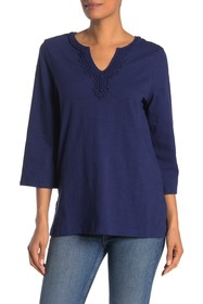 Tommy Bahama Bell Sleeve Jersey Tunic