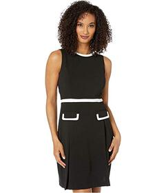 Tommy Hilfiger Fit-and-Flare Scuba Crepe Dress