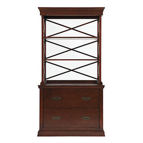 Bourdonnais File Hutch - Mahogany