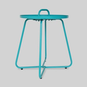Madelyn Aluminum Side Table - Christopher Knight H