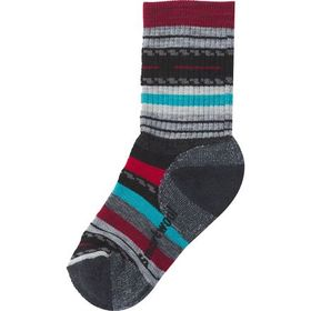 Smartwool Hike Medium Margarita Crew Sock - Kids'