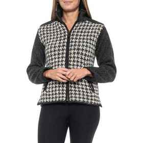Laundromat Black Natural Agatha Cardigan Sweater -